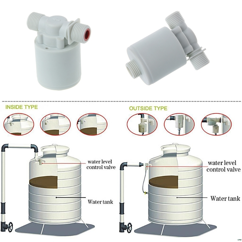 Automatic Water Level Control Valve Tower Tank Floating Ball Valve Water Tower