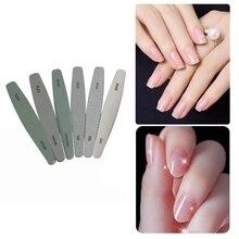 6 Pcs Pro Nail Art Tool Nail File Pedicure Manicure Nail Polish Files Beauty Tools Nail Drill Accessories & Bits New