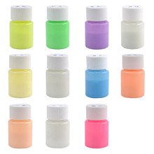 20g Glow in the Dark Acrylic Luminous Paint Bright Pigment Party Decoration DIY Pink