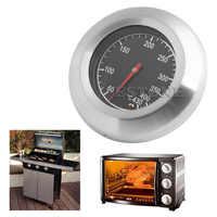60-430 ℃ acier inoxydable Thermomètre Barbecue Barbecue Indicateur température