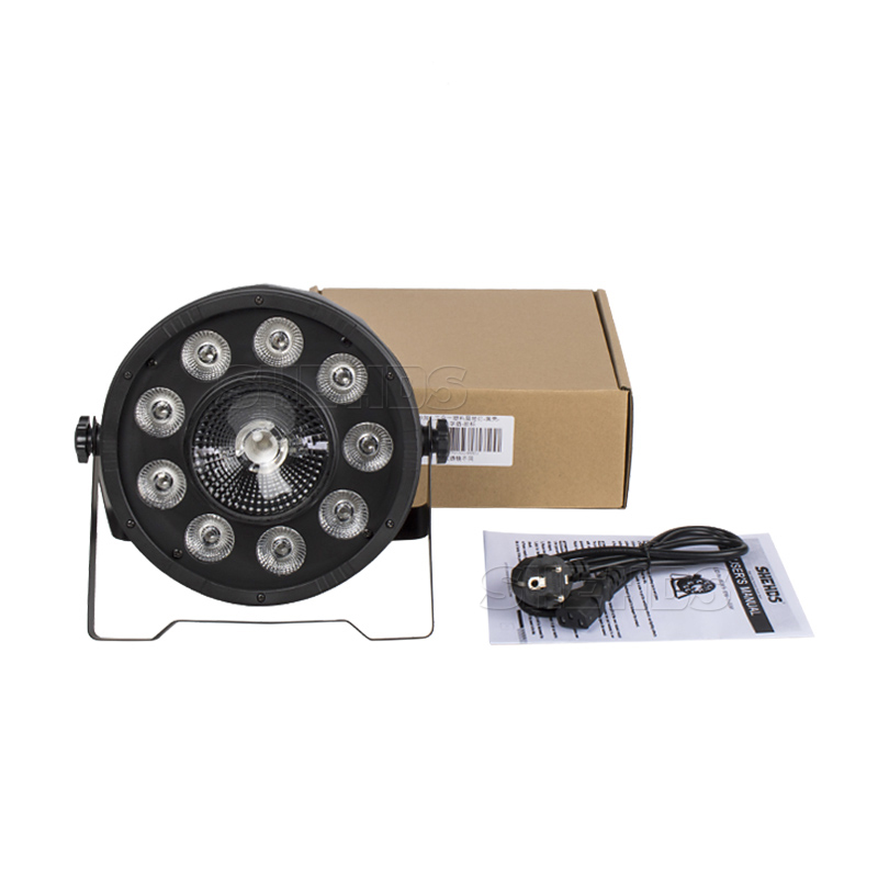 2pcs/lot Fast Shipping  LED Fat Par 9X10W+1X30W Led Light RGB 3IN1 LED Light Stage DJ Light DMX Led Par Par Party Lights