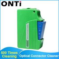 ONTi оптоволоконная коробка для очистки лица инструмент для очистки волокон косичка очиститель кассета Ftth оптоволоконный очиститель инстру...