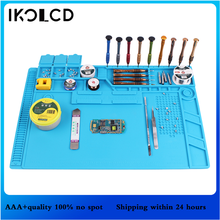 S 150 S 120 S 130 S 140 Heat Insulation Silicone Soldering Pad Mat Desk Maintenance Platform For Repair Station With Magnetic
