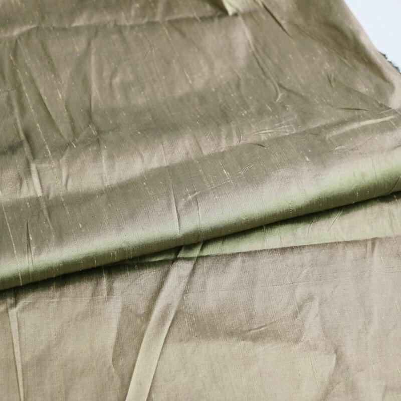 Traje de noche de 100cm x 140cm, tela de seda doupioni, hilo de calidad, seda teñida shantung Nuevo edredón grueso cálido y cómodo de invierno/edredón para regalo de Navidad tela de plumón de Color puro edredón de microfibra