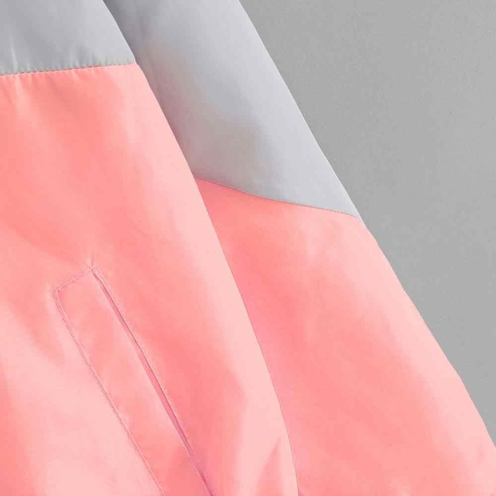 秋かわいいパーカーフード付き女性スポーツコート日焼け超軽量巾着かわいい原宿パーカースウェット女性服