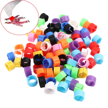 Clip-Rings-Band Foot-Ring Chicken Poultry-Dove Pigeon-Supplies Hen Bird Duck Parrot 100pcs