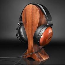 North American Black Walnut Hifi Headset Headphones Wooden Headset Stand Display Stand цена