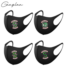 Masque Riverdale-Mask Cosplay Serpents Reusable Mouth Cotton Masks