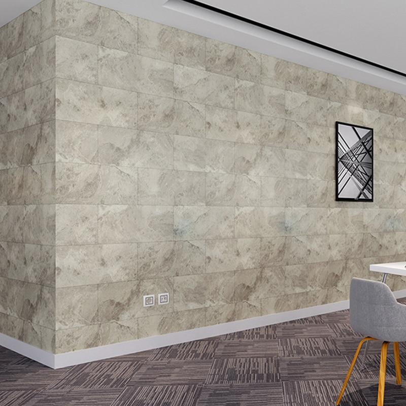 Waterproof Floor Tiles Diagonal Wall Stickers Kitchen Ground Decoration Art Wallpaper Bathroom Tile Renovation DIY Wall Decals