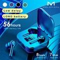 56 часов длинные Батарея Беспроводной Bluetooth V5.1 наушники красочные Беспроводной Наушники Hi-Fi стерео наушники вызова наушники с микрофоном
