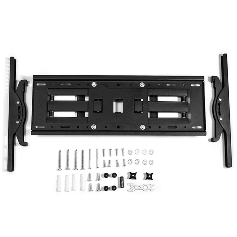 TV Wall Mount Bracket Dual Swivel Extension Tilt Rotation TV Wall Mount Bracket Fits Most 32-65 Inch LCD Flat/Curved TVs T8NF