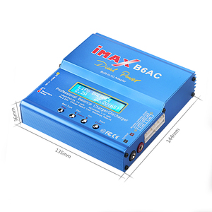 Image 3 - IMAX B6 ca 80W B6AC RC chargeur 6A double canal Balance chargeur Li ion Nimh Nicd Lipo batterie numérique LCD écran déchargeur