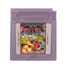 Dành Cho Máy Nintendo GBC Video Game Hộp Mực Tay Cầm Thẻ Gargoyles Quest II Quỷ Bóng Tối Xem Lại Phiên Bản Tiếng Anh