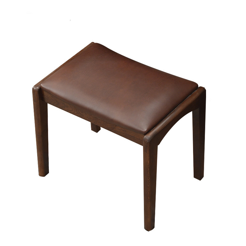 Jia Yi Solid Wood Dressing Stool Makeup Stool Chair Dresser Stool Dinner Stool Table Stool