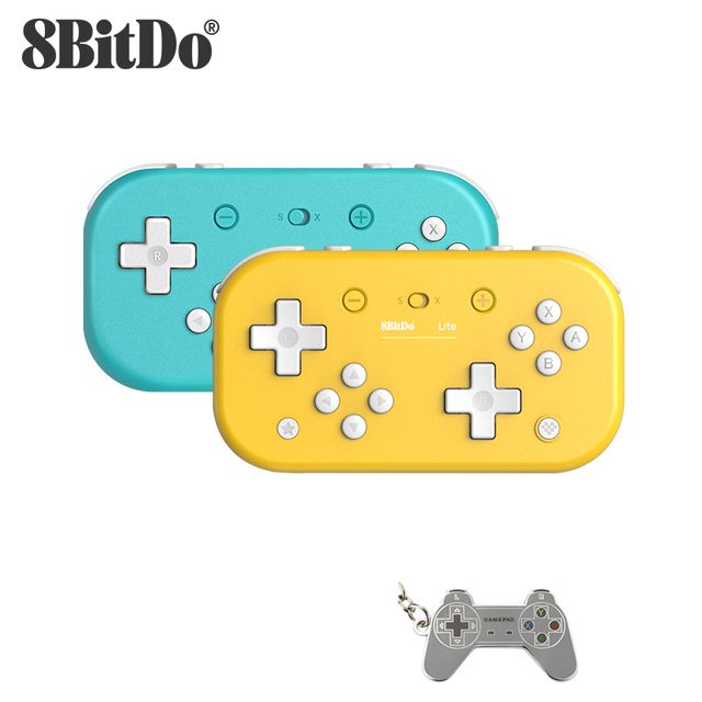 Беспроводной bluetooth контроллер для Nintendo Switch Lite, Nintendo Switch и Windows 8BitDo Lite