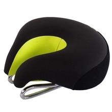 Велосипедное Сиденье велосипедное седло Подушка высокопрочный дышащий велосипед Mtb горный велосипед комфорт без раздельного носа седло