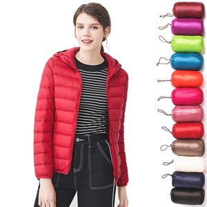 Image 3 - Sitruuna Down jacket women 95% duck down coat Ultra Light warm Female Solid Portable stand collar down jacket winter