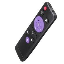 H96 Max RK3318 H96 Mini H6 Allwinner H603 TV Box 용 IR 리모컨 교체 컨트롤러