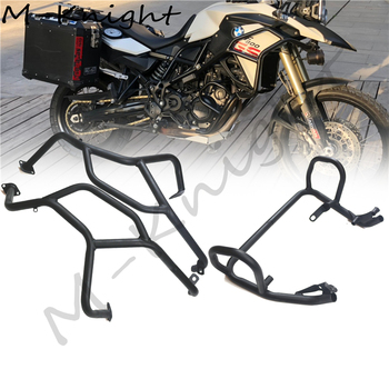 For BMW F800GS F700GS F650GS F 800 700 650 GS 2008-2017 Upper + Lower Engine Guard Bumper Crash Bar Buffer Fuel Tank Prot motorcycle one set of frame protector upper lower crash bar engine tank guard bumper for bmw r1200gs r 1200 gs 1200gs 2007 2012