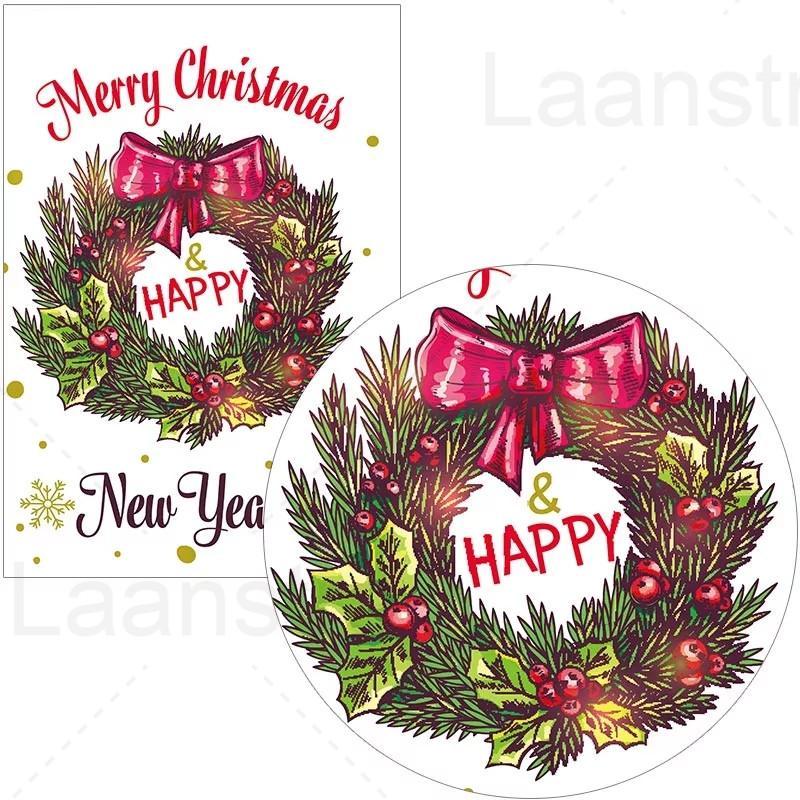 Постер в ретро стиле для празднования Рождества и нового года