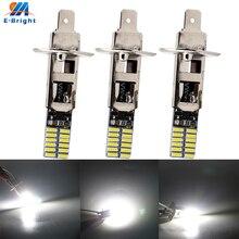 10X12 V H1 H3 4014 24 SMD 360LM Canbus Светодиодная лампа для внедорожника, грузовика, сигнальная противотуманная фара Dt, ходовой светильник, без ошибок