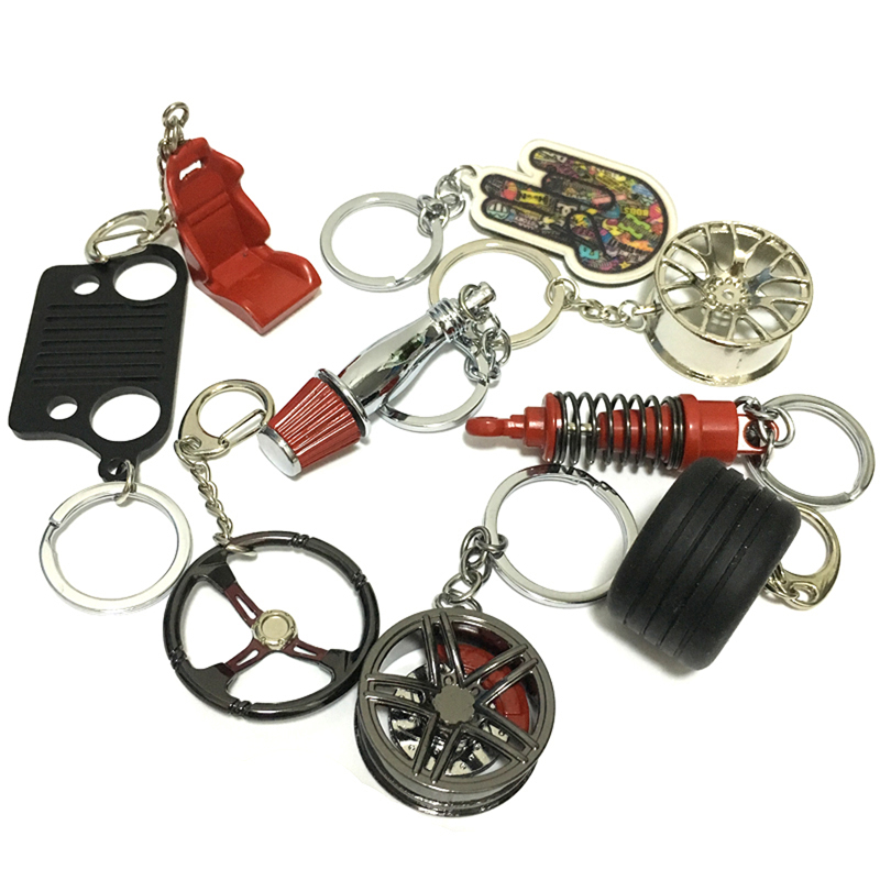Au-Tomotive Gold INC Authentic Toyota Red Valet Key Chain Car Gift Fob