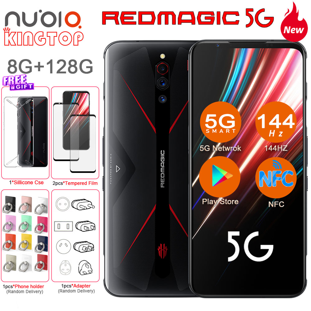 Global Version ZTE Nubia Red Magic 5G Smartphone 6.55