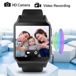 Image 4 - KW06 남자 스마트 시계 IP68 방수 블루투스 통화 심장 박동 모니터 와이파이 GPS 카메라 Smartwatch 안드로이드 Xiaomi IOS 전화 번호