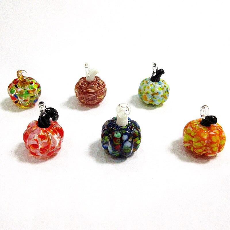 6 шт декоративные подвески в виде тыквы