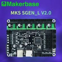 MKS Makerbase SGen_L V2.0 3D Peças de Impressora Placa de Controle 120MHZ MCU 32Bit TMC2208 TMC2209 TMC2225 modo uart