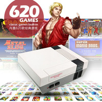 NES classic mini game console home video game console 80 nostalgic 620 in one FC red and white game console