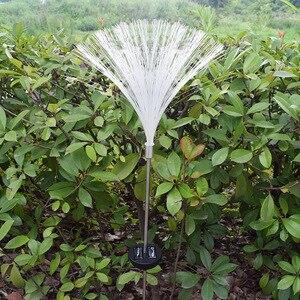 Image 4 - 2 adet LED güneş su geçirmez açık alan aydınlatması renkli değişim güneş çim ışığı bahçe ışıkları noel düğün parti dekorasyon için