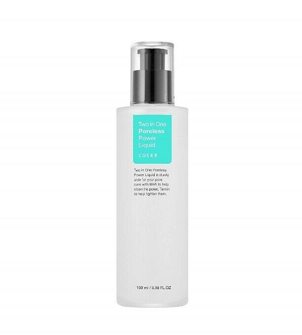 COSRX Two in One Poreless Power Liquid 100ml Pore Treatment Serum Shrink Pores Essence Relieve Oil Control Care Korean Cosmetics