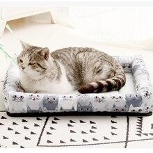 Мягкий коврик для домашних животных из ледяного шелка одеяло