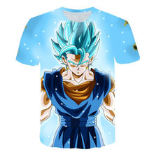 2021 Summer Men'sAnime Personality Loose Large Size 3D Printed Clothes, Street Fashion Round Neck Quick-Drying T-Shirt