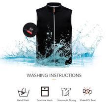 Мужчины женщины открытый USB инфракрасного отопления жилет куртка зимняя гибкий электрический тепловой жилет рыбная ловля пешие прогулки