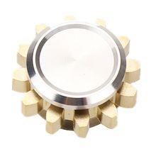 Spinner Fidget-Toy Gear Finger-Edc Metal-Alloy Stress Relief MINI Gift