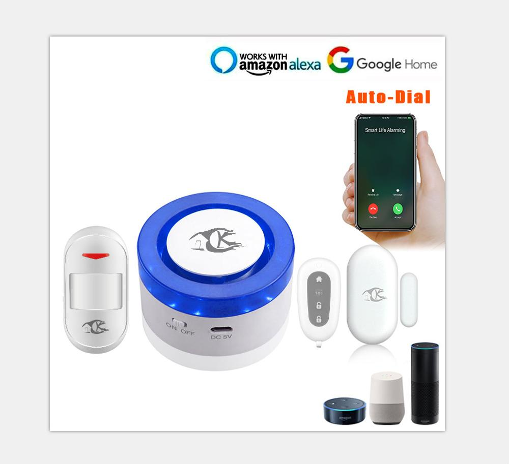 Wifi Alarm System Smart Life Mobile