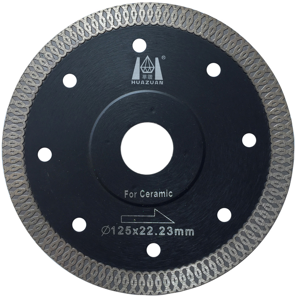 Multifunctional High Hardness Thin Circular Disc Saw For Processing Cutting Natural Stone Diamond Porcelain Tiles