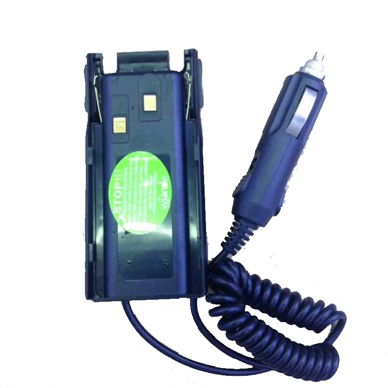 Good Quality Input DC12V Car Charger Eliminator For BaoFeng BF-UV82,BF-UV89,BF-UV8D Etc Walkei Talkie