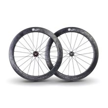 Lún Road 60mm Disc Brake carbon Wheels (Shimano cassette body)