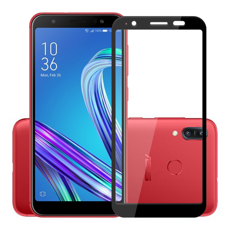 2.5D Glass For Asus ZenFone Max M1 ZB555KL Full Cover Screen Protector 9H Tempered Glass Protective Film On ZB555KL X00PD 5.5