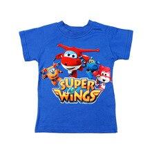 цена на High Quality 3-8T Dinosaur Summer Boy Tops Cartoon T Shirt Cotton Short Sleeved T-shirt for Boys Girls Kids Camiseta Tshirt