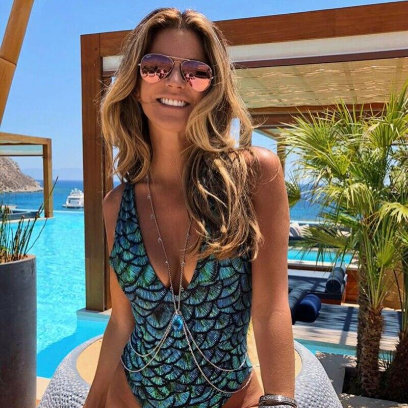 Backless Bandage One Piece Swimwear Bodysuits Women Bathing Beach Wear Swimming Suit Swimsuit