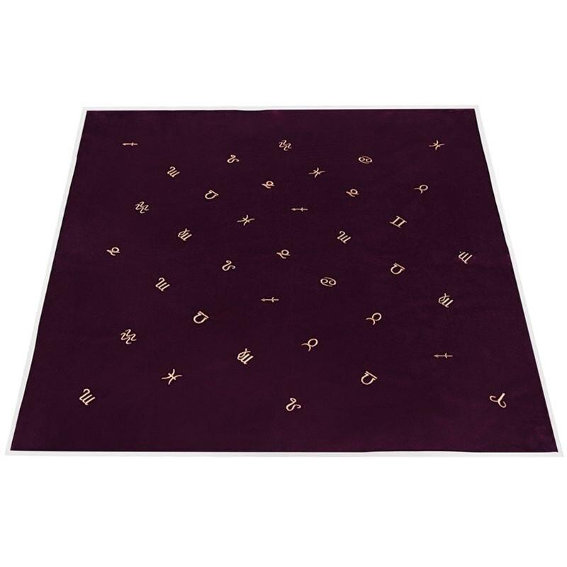 Ootdty tarot toalha de mesa com cartões