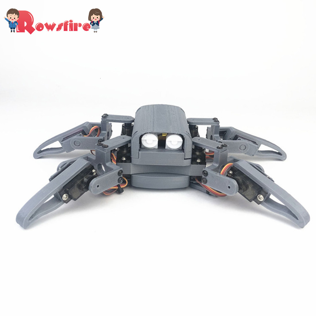 High Recommend 1 Set DIY Programmable Four-Legged Spider Education WIFI Phone Can Control Robot Kit For Nodemcu
