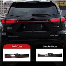 LED luz Reflector lámpara de freno señal de advertencia para parachoques trasero y maletero Luz de cola para Toyota Highlander Kluger XU50 2015 - 2019