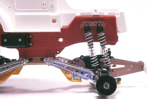 New 8pcs Aluminum oil damper with plates  for TAMIYA Clod buster//bullhead
