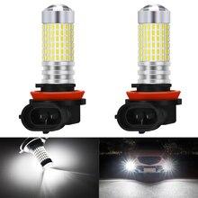 2pcs H8 H9 H11 Fog Lights 9005 9006 For Hyundai Tucson 2017 Creta Kona IX35 Kia Rio 3 4 K2 K5 KX5 Led Light for Car Lamp Bulb