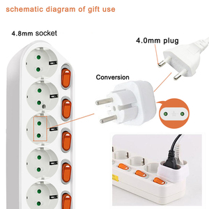 Image 5 - Power Stripเครือข่ายกรอง2000 3500W Smart Power StripหลายEU Plug Outlet Extensionสำหรับซ็อกเก็ต,surge Protectorพร้อมสวิตช์